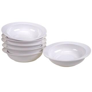 Certified International Ellipse Porcelain Soup / Pasta Bowl (Set of 6)