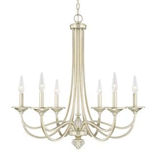 Capital Lighting Windsor Collection 6-light Soft Gold Chandelier