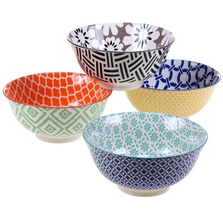 Certified International Mix & Match Chelsea Bowls (Set of 4)