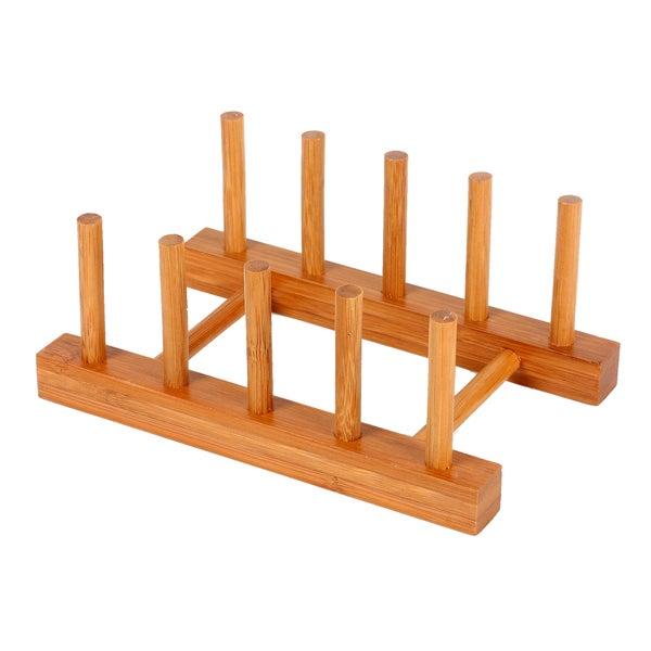 Culinary Edge by Kalorik Premium Bamboo Dish Rack
