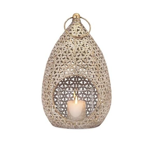 Moroccan Teardrop Hanging Lantern