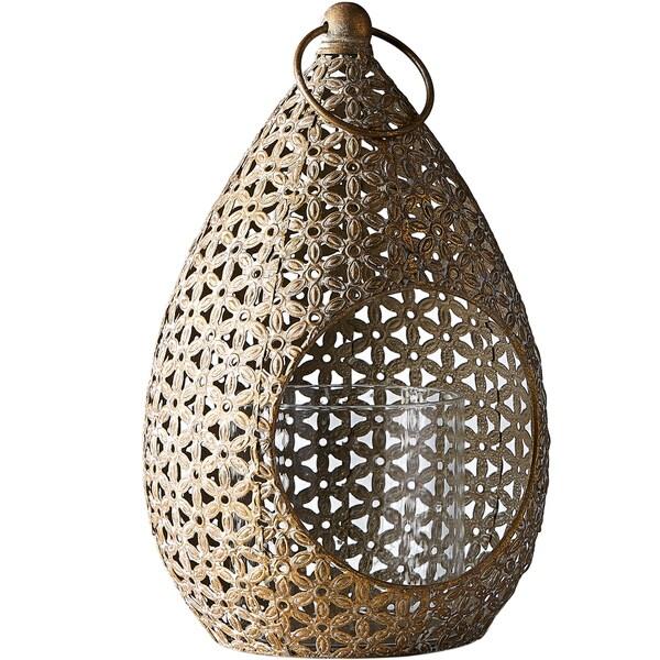 Small Moroccan Teardrop Hanging Lantern