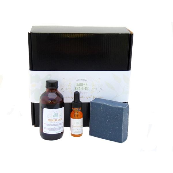 Charcoal and Sea Buckthorn Facial Gift Set