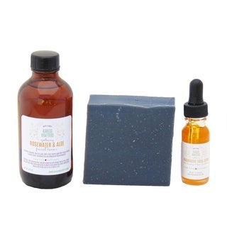 Charcoal and Sea Buckthorn Facial Gift Set