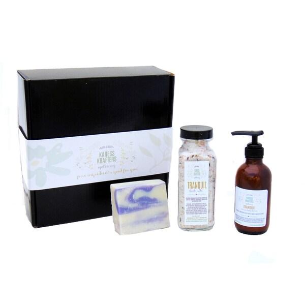 Unwind Cleanse Soak Moisturize 3-piece Spa Gift Set