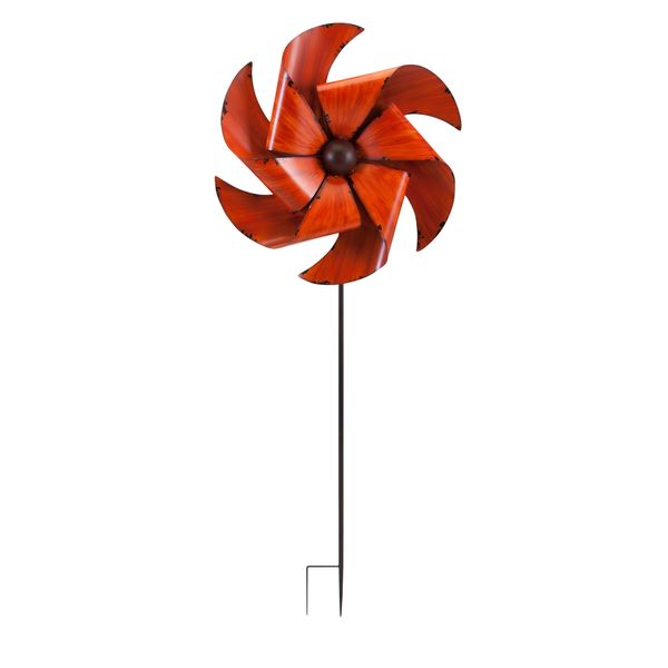 May Whirly Garden Stake