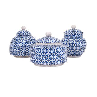 Jessica Lidded Boxes - Set of 3
