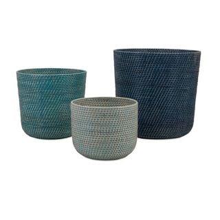 Adriel Rattan Baskets - Set of 3