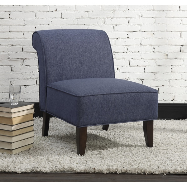 Sadie Slipper Blue Accent Chair
