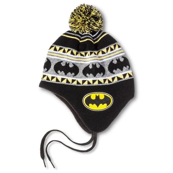 Batman Shoelace Peruvian Style Cap