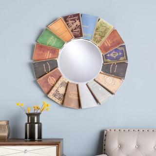 Upton Home River Book Embellished Mirror