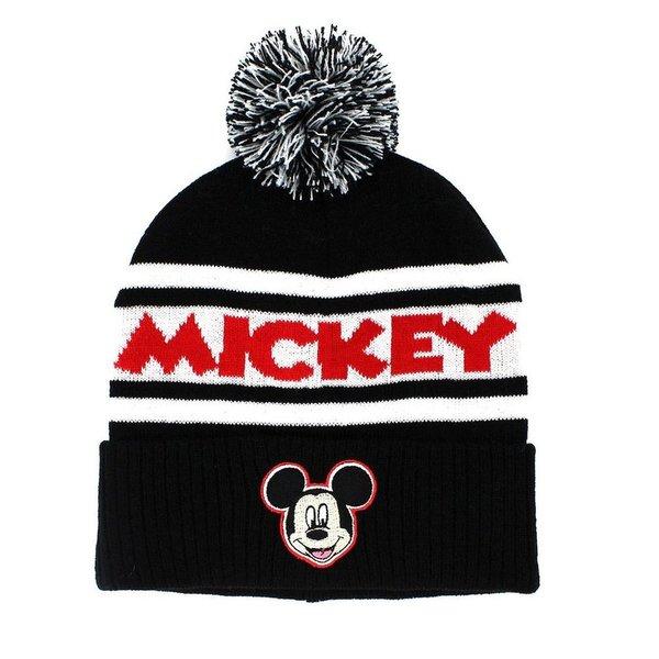 Mickey Mouse Pom Pom Beanie