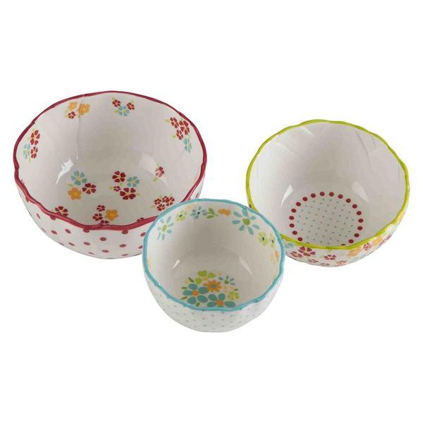 TAG Flower Bowls (Set of 3)