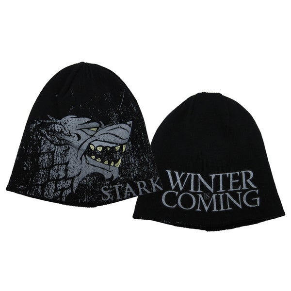 Game Of Thrones House Stark Reversible Beanie