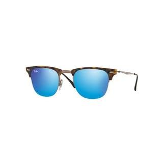 Ray-Ban RB8056 175/55 49mm Blue Mirror Lenses Tortoise/Brown Frame Sunglasses
