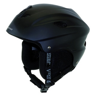 Ventura Black Skiing/Snowboarding Adult Helmet L (58-61 cm)