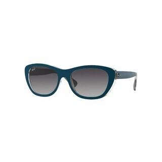 Ray-Ban RB4227 61918G 55mm Grey Gradient Lenses Blue Frame Sunglasses