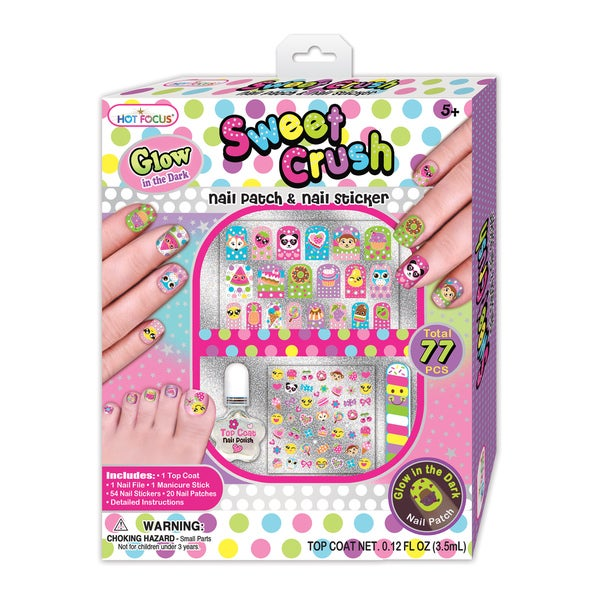 Hot Focus Sweet Crush Nail Patch and Nail Stickers