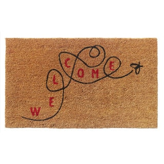'Welcome' Coir Doormat