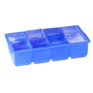 Jumbo Silicone Ice Cube Tray 8 Cavity (Set of 2)