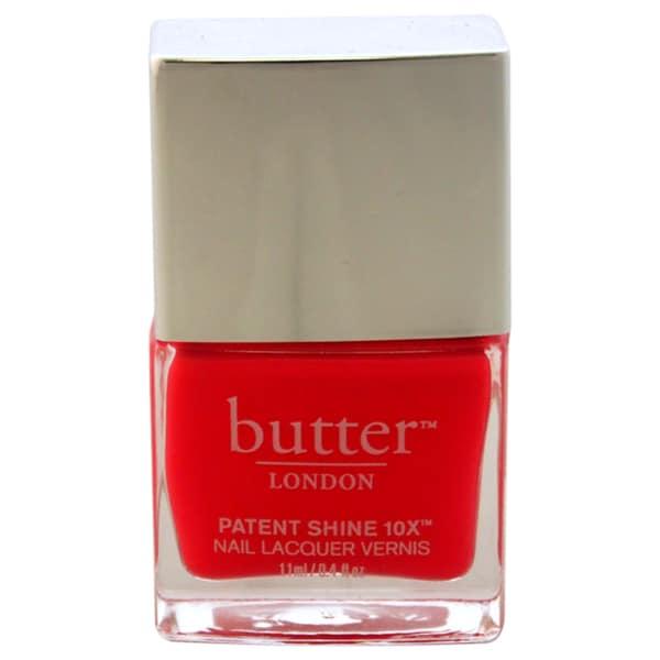 Butter London Patent Shine Flusher Blusher 10X Nail Lacquer