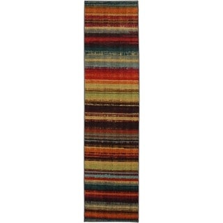 Mohawk Home New Wave Boho Stripe Rug (2'x5')