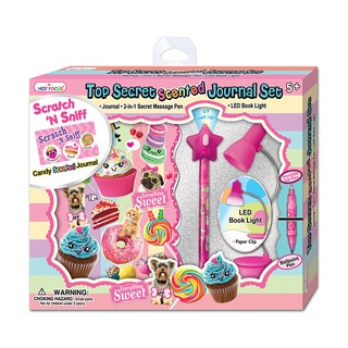 Hot Focus Sweet Crush Top Secret Journal Set