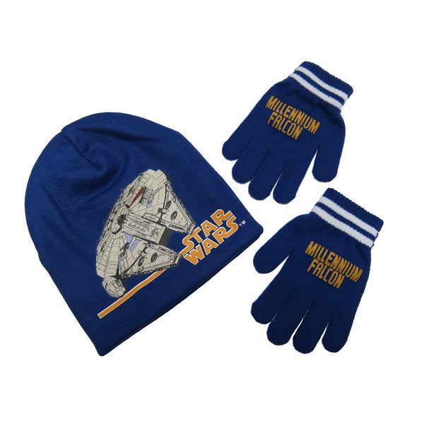 Star Wars Millennium Falcon Beanie and Glove