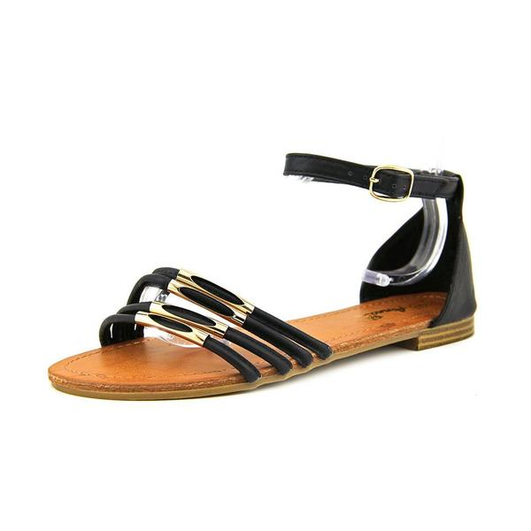 Anna Women's 'Claire 1' Leather Sandals