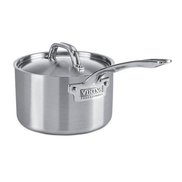 Viking Professional 5-Ply Saucepan 3-Quart Stainless Steel