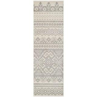 Safavieh Adirondack Ivory/ Silver Rug (2' 6 x 20')