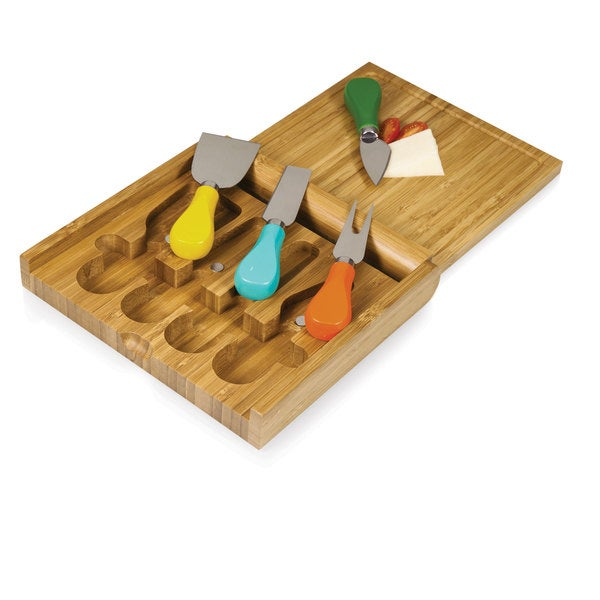 Carnaval Folding Cheese Board and Tools Set 18284380