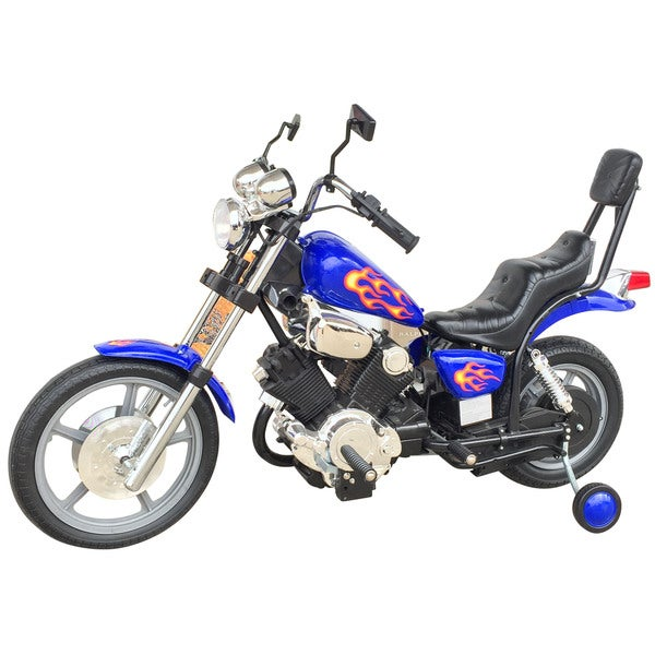 Best Ride On Cars Chopper Blue 6V