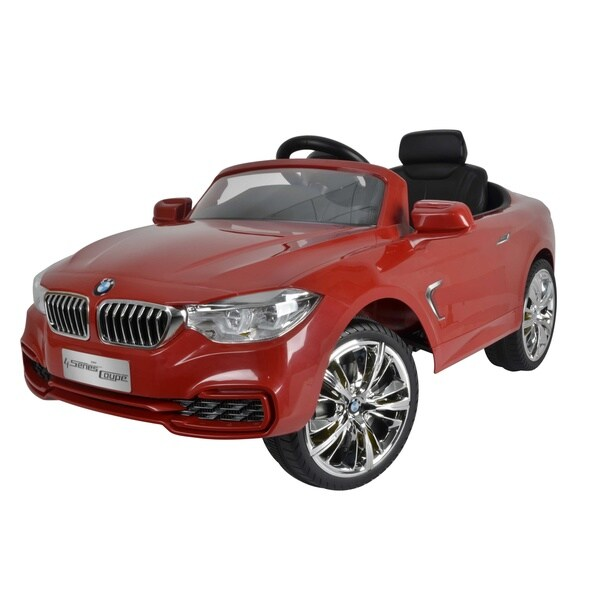 Best Ride On Cars Bmw 4 Series 12v Red 18655332 Overstock Com Shopping Big Discounts On