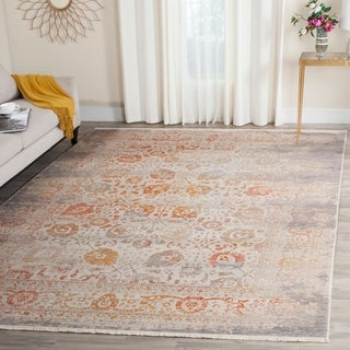 Safavieh Vintage Persian Grey/ Multi Polyester Rug (6' x 9')