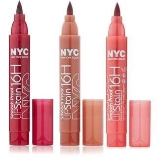 New York Color Smooch Proof 3-piece Lipgloss Set