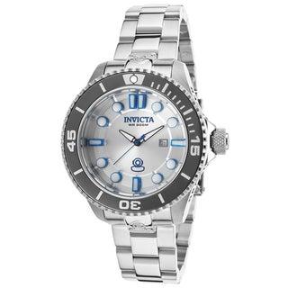Invicta Women's Pro Diver Grand Diver SS Silver-Tone Watch