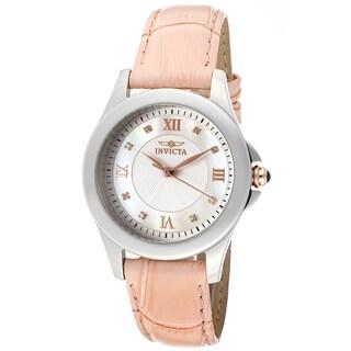 Invicta Women's Angel Diamond White and White Watch