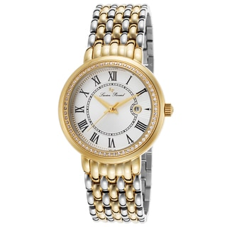 Lucien Piccard Fantasia Two-Tone Stainless Steel Silver-Tone Dial Watch