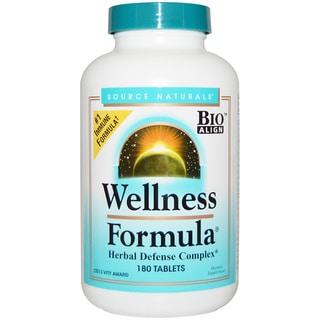 Source Naturals Wellness Formula Supplement (180 Tablets)