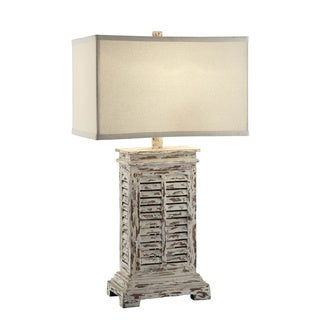 Crestview Collection 63-inch Bella Wood Floor Lamp