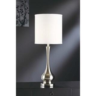 Crestview Collection 72-inch Brushed Nickel Floor Lamp