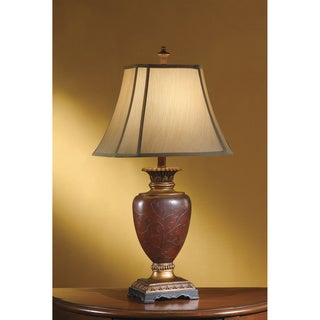 Crestview Collection 33-inch Opulent Silver Table Lamp