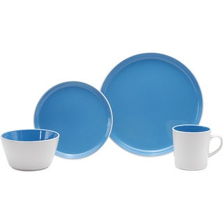Oneida BerryBerry Blue Colorburst Dinnerware 32-piece Set (Service for 8)