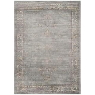 Safavieh Vintage Grey/ Multi Rug (10' x 14')