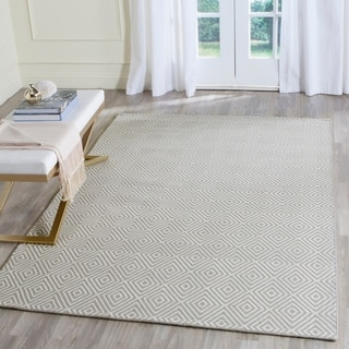 Safavieh Hand-Hooked Wilton Beige/ Ivory Wool Rug (8' x 10')