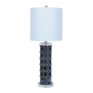 Crestview Collection 25.5-inch Off-White Table Lamp