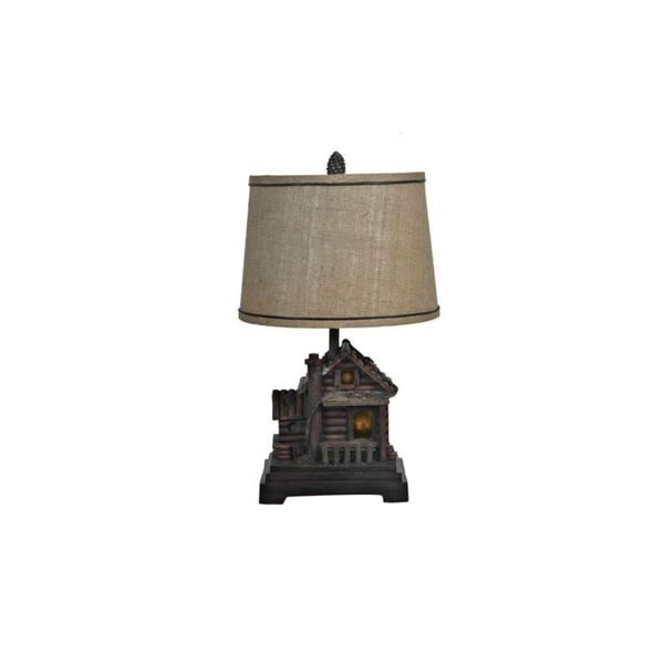 Crestview Collection 24.5-inch Cabin Table Lamp