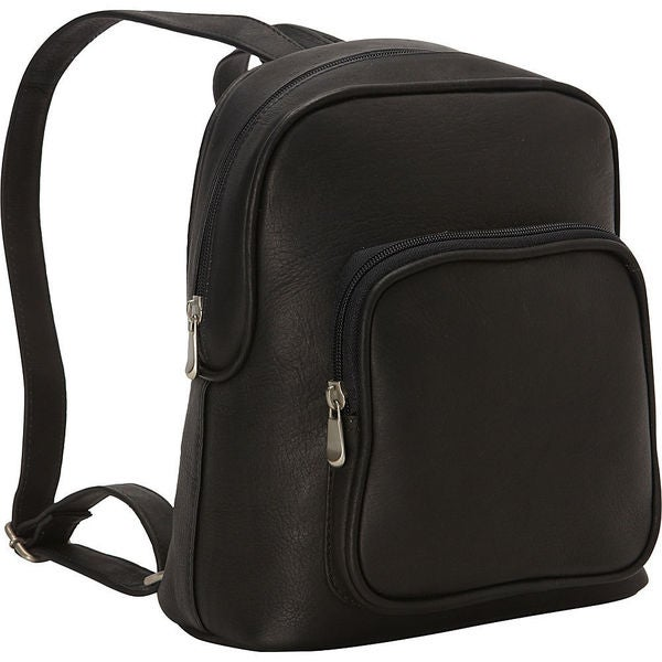 LeDonne Leather Zip Around Backpack