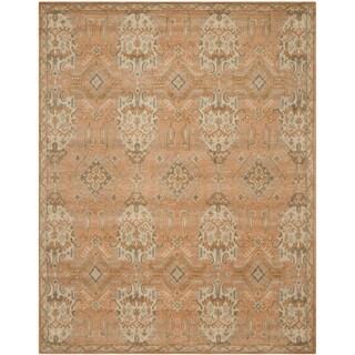 Safavieh Handmade Wyndham Terracotta Wool Rug (10' x 14')